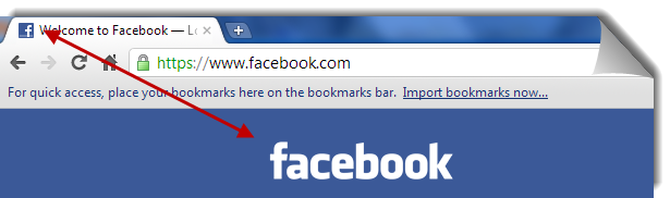 Facebook's favicon