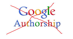 No More Google Authorship