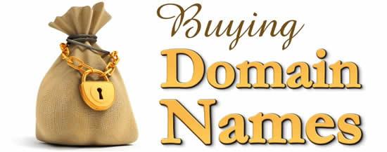 Buying Domain Names