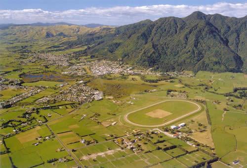 Aerial View of Te Aroha