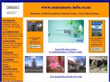 Matamata Information Website